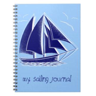 ¡Navegación rápida! náutico, vintage, personalizad Cuaderno