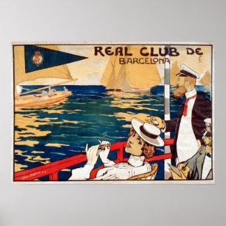 Navegación real del de Barcelona del club del Póster