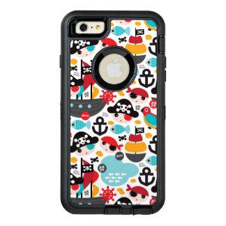 Navegación retra del ejemplo de los piratas funda otterbox para iPhone 6/6s plus