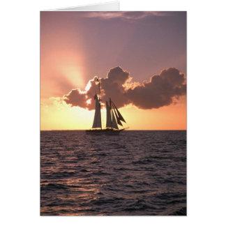 Navegación (tarjeta en blanco) tarjeta de felicitación