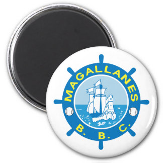 Navegantes del Magallanes Magnet Imán Redondo 5 Cm