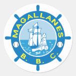 Navegantes del Magallanes Stickers Pegatina Redonda