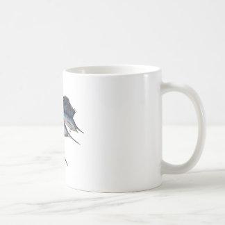 Navegue en el abismo taza de café