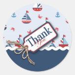 ¡Naves Ahoy! Pegatina de TY