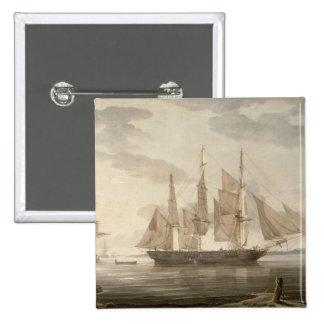 Naves en el puerto, 1805 (aceite en lona) pins