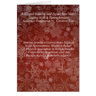 Navidad 01 tarjeta de felicitación