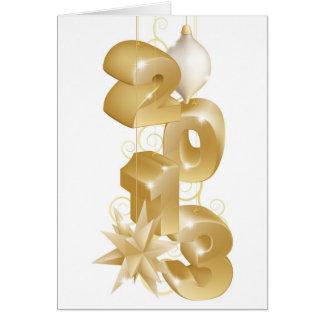 Navidad 2013 decoraciones tarjeta de felicitación