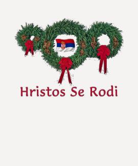 Navidad 2 de Serbia Camisetas