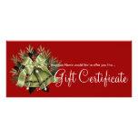 Navidad Belces del verde del certificado del regal Lonas Personalizadas