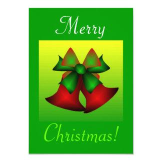 Navidad Belces I Invitación 12,7 X 17,8 Cm