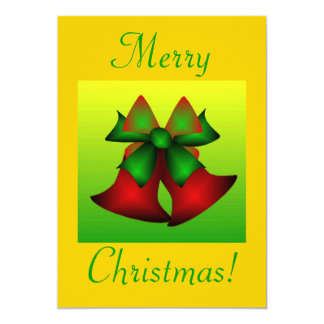 Navidad Belces III Invitación 12,7 X 17,8 Cm