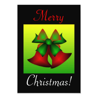 Navidad Belces Invitación 12,7 X 17,8 Cm