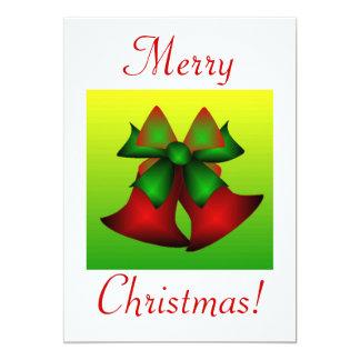 Navidad Belces IV Invitación 12,7 X 17,8 Cm