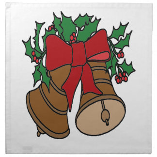Navidad Belces Servilleta De Tela