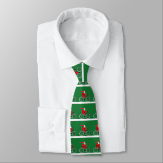 Navidad Biking Corbatas Personalizadas