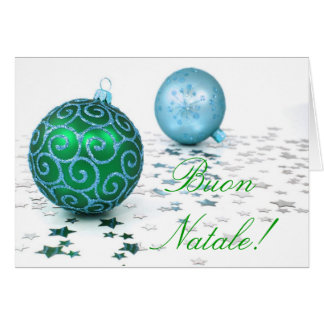 Navidad Buon Natale I Tarjeta De Felicitación