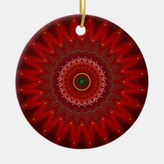 Navidad carmesí 2 ornamentos para reyes magos