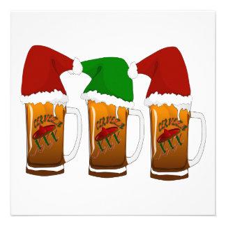 Navidad Cerveza de los amigos de Tres