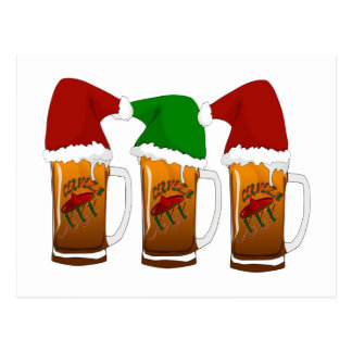 Navidad Cerveza de los amigos de Tres Postal