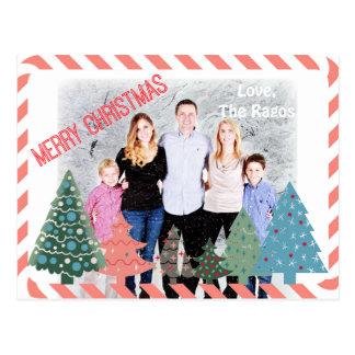 Navidad colorido Editable de la diversión Postal