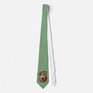 Navidad - cubierta los pasillos - perros corbatas personalizadas