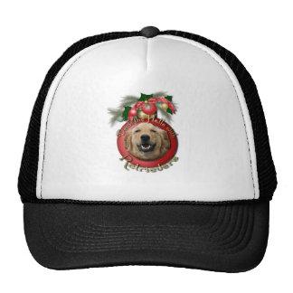 Navidad - cubierta los pasillos - perros gorras de camionero