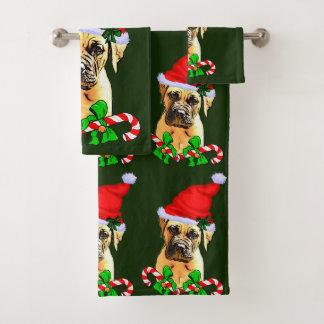 Navidad de Bullmastiff