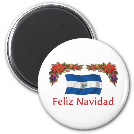 Navidad de El Salvador Imanes Para Frigoríficos