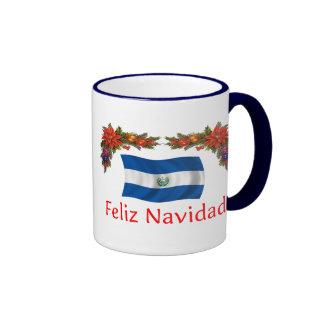 Navidad de El Salvador Taza A Dos Colores