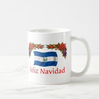 Navidad de El Salvador Tazas De Café
