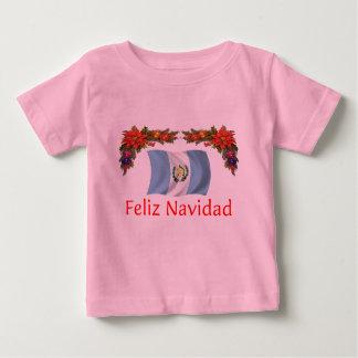 Navidad de Guatemala Camiseta Para Bebé