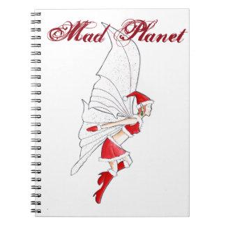 Navidad de hadas cuaderno