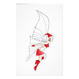 Navidad de hadas papelería