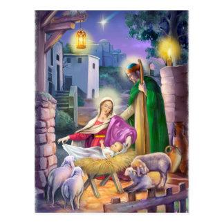 Navidad de la natividad postal