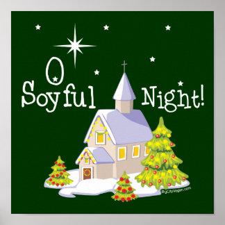 Navidad de la noche de O Soyful Posters