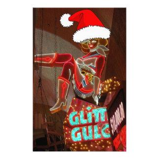 Navidad de la quebrada del brillo de Las Vegas Papeleria