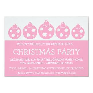 Navidad de la silueta adorna las invitaciones (el invitación 12,7 x 17,8 cm