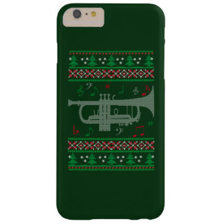 Navidad de la trompeta funda barely there iPhone 6 plus