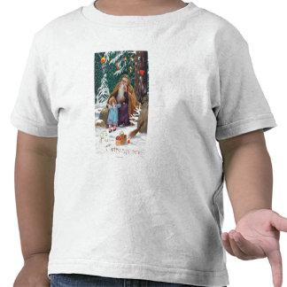 Navidad de las felices Navidad de un padre del tie Camiseta
