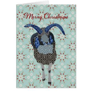 Navidad de las ovejas de Winterland Jacobs que Tarjeta De Felicitación