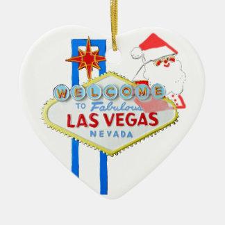 Navidad de Las Vegas Adorno