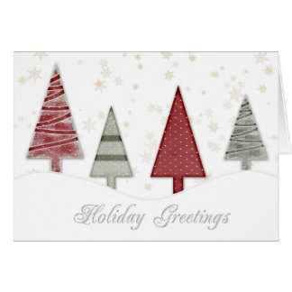 Navidad de los copos de nieve del oro de los tarjeta de felicitación