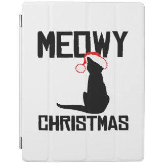 Navidad de Meowy - humor del día de fiesta Cover De iPad