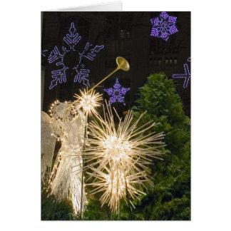 Navidad de New York City Tarjeta De Felicitación