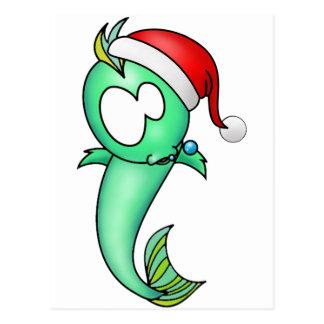 Navidad de Piscis Postal