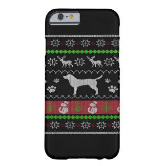 Navidad de Ulgy del perro Funda Barely There iPhone 6