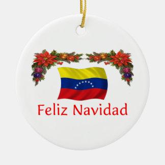 Navidad de Venezuela Ornamento De Navidad