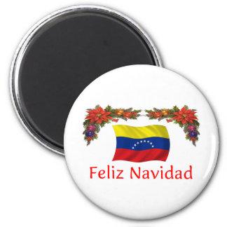 Navidad de Venezuela Imán De Nevera