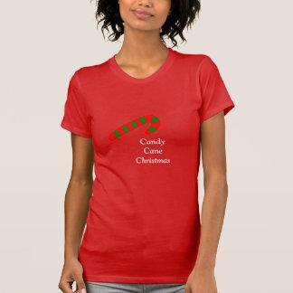 Navidad del bastón de caramelo camiseta