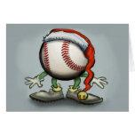 Navidad del béisbol felicitación